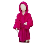 Hot Pink Velour Robe with Hood CHOOSE A SIZE