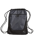 Puma Drawstring Gym / Camp Bag (Gray/Black)