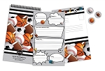 Sports Seal & Send Camp Stationery