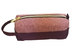 ELESAC Pencil Case (Salmon Pink/Red)
