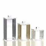 Lucite Canister CHOOSE A COLOR AND SIZE