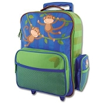 Stephen Joseph Classic Rolling Luggage (Monkey)