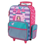Stephen Joseph Classic Rolling Luggage (Castle/Princess)