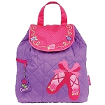 Stephen Joseph Quilted Backpack (Ballet)